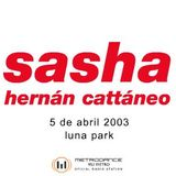 Sasha - Live at Moonpark (Buenos Aires) (05-04-2003)
