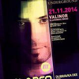 Hrvoje Bare live @ Underground 21.11.2014.