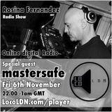 Ledgendery Dj Mastersafe on my show LocoLDN