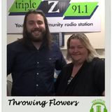 Interview with Marcus from Throwing Flowers on The Local - SA - 9 Nov 2017