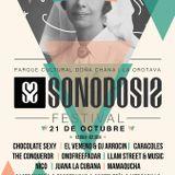 Sesión Festival Sonodosis 21-10-17