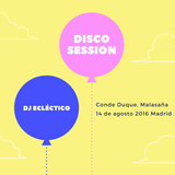 DISCO SESSION, CONDE DUQUE, MADRID