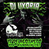 UXORIA | GOTHIC BA | 17th Anniversary | 18/08/18