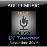 DJ Taucher - Adult Music On DI 058 (November 2014)