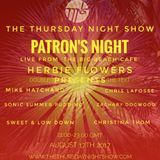 The Patrons Night from the Big Beach Cafe 17-8-17