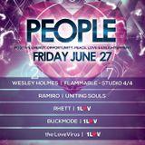 1Luv Presents P.E.O.P.L.E DJ Buckmode 6/27/14