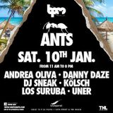 ANDREA OLIVA B2B UNER - ANTS PARTY @BLUE PARROT - THE BPM FESTIVAL 2015