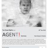 """Tao Terraces ft AGENT!  """"Tao Deep Nights"""" : 20th Dec, 2013."""