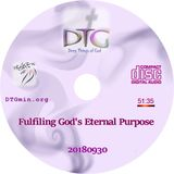 Fulfilling God's Eternal Purpose