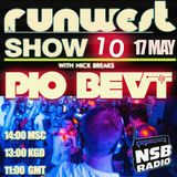 RUNWEST SHOW #10 - PIO BEAT (Live Guest mix)