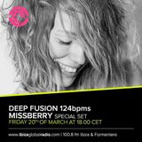 Missberry @ Deep Fusion 124bpms special session Ibiza Global Radio