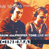 Naum b2b Proper Tone – live 10.07 Cybernetic Podcast Night 12