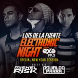 Electronic Night - New Year Session By LDLF Guest DJs Mishel Risk & Oswaldo Parra