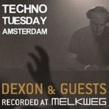 Techno Tuesday Amsterdam 054 with Dexon featuring Hollen (13 February 2018)