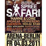 Spreesafari @ arena berlin ~ tonwerkstadt floor