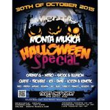 Monta musica 31st october 2015 dj shock illusion mcs stompin mc ace full set