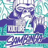 High Kulture 4th Anniversary Podcast 06 - SAGAMAN