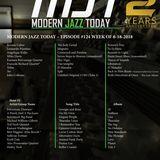 Modern Jazz Today - Episode #124 - The Week of June 18, 2018