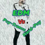 EDM vs Psy-Trance vs Hard-Psy
