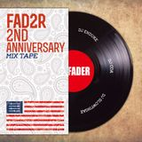 FADER 2ND ANNIVERSARY MIXTAPE Mixed By DJ ENDUKE