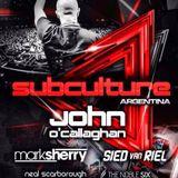 Mark Sherry - Live @ Subculture, Mandarine Park (Buenos Aires) - 12.07.2014