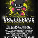ResisTekk aka Dominik S. - DJ Set - 06.04.2013 - Bretterbox Festival Vol.1 - M-Box Kaisersesch
