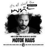 It's all about the Music radio show with Motoe Haus 2