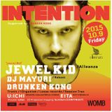 U:ICHI at WOMB (Tokyo Japan) 09.10.2015 INTENTION at WOMB