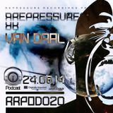 REPRESSURECTION - RRPOD020 - Van Daal (JUNE 24th 2014 on DI.FM)