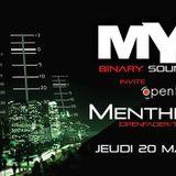 Menthine @ Le Bar'Hic pour la MYTIIK # 6