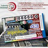 25 Aniversario de Arqueología mexicana. Billete