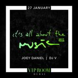 Joey Daniel - Live @ It's All About The Music, Vip Room (Dubai, SAU) - 27.01.2017
