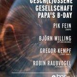 26.05.2012 Björn Willing @ Gesch(l)ossene Gesellschaft, Bar99 (Ex-Vinylbar), Frankfurt