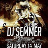 dj Semmer vs Zippora @ Bocca - 20Y dj Semmer 14-05-2016