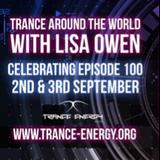 Trance Around The World With Lisa Owen Episode100 PAUL DENTON