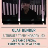 Olaf Bender / A Tribute to / by Nobody Jay / 25/07/2019