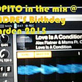 Lopito in the Mix  @ Andre's Birthday Garden - 19.07.2015 Würzburg Germany