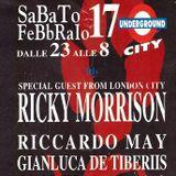 Ricky Morrison d.j. Underground City (Pe) 17 02 1996