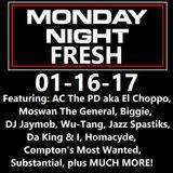 HipHopPhilosophy.com Radio - LIVE - Monday Night Fresh 01-16-17