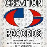 Glossop Record Club - Creation Records (April 2016)
