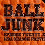 Ball Junk Podcast Episode #28: NBA Season Preview 2017