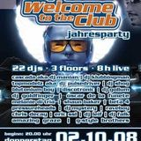 Welcome To The Club (WTTC) Jahresparty 2008 live @ Kinki Palace - Part 1 of 2