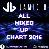 All Mixed Up Chart 2016 Mixed By Jamie B