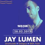 Jay Lumen - Live @ Yalta Club (Sofia, Bulgaria) - 28.02.2015