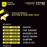 The Junkies – Live at SCI+TEC & This And That (Studio 80 - ADE) – 17.10.2012