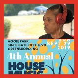 House Sessions Aggie Park Greensboro, NC 9/29/19 - DJ BossLady