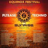 Equinox 2019 Sunrise Stage