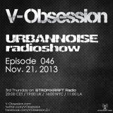 V-OBSESSION - #URBANNOISEradioshow 046 Pt2 [Nov.21,2013] on STROM:KRAFT Radio