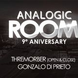 Thremorber Tracking Podcast Analogic Room Pre-party