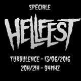 Turbulence - Spéciale Hellfest - 13/06/2016
